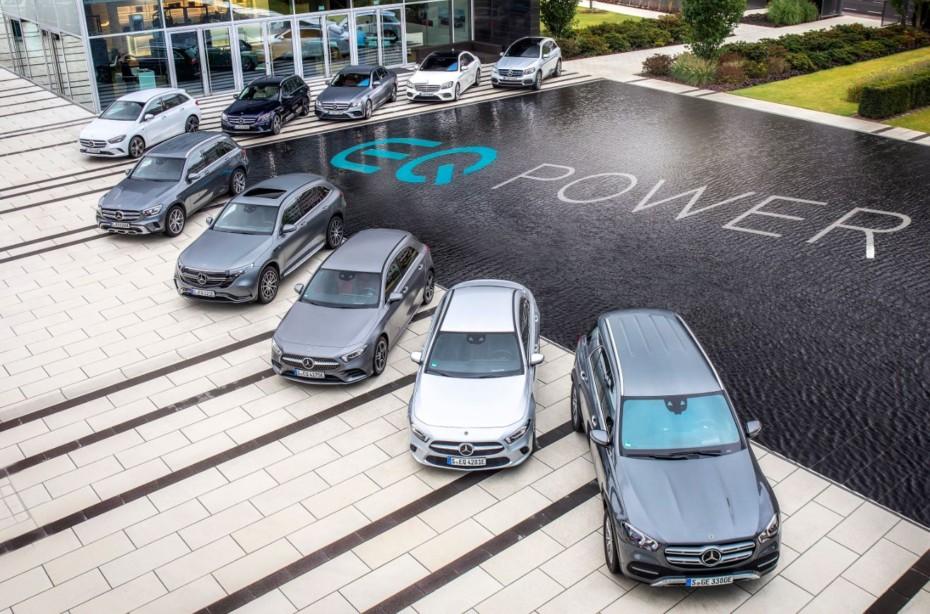 Estos son todos los híbridos enchufables de Mercedes-Benz: Así es la familia EQ Power