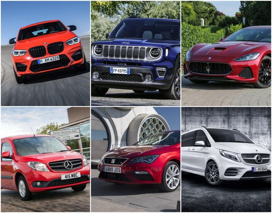 Llamadas a revisión semana 38: 20 modelos de 10 marcas y unos neumáticos…
