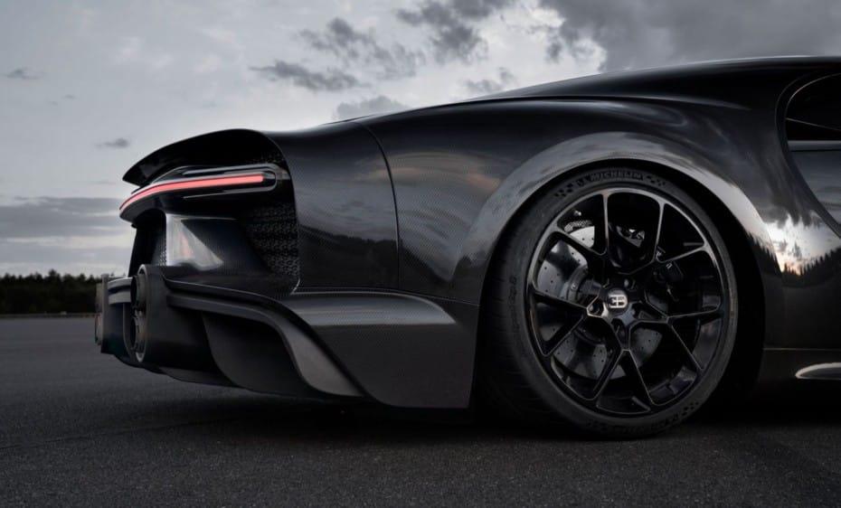 Estos son los neumáticos que monta Bugatti para alcanzar los 490 km/h en el Chiron