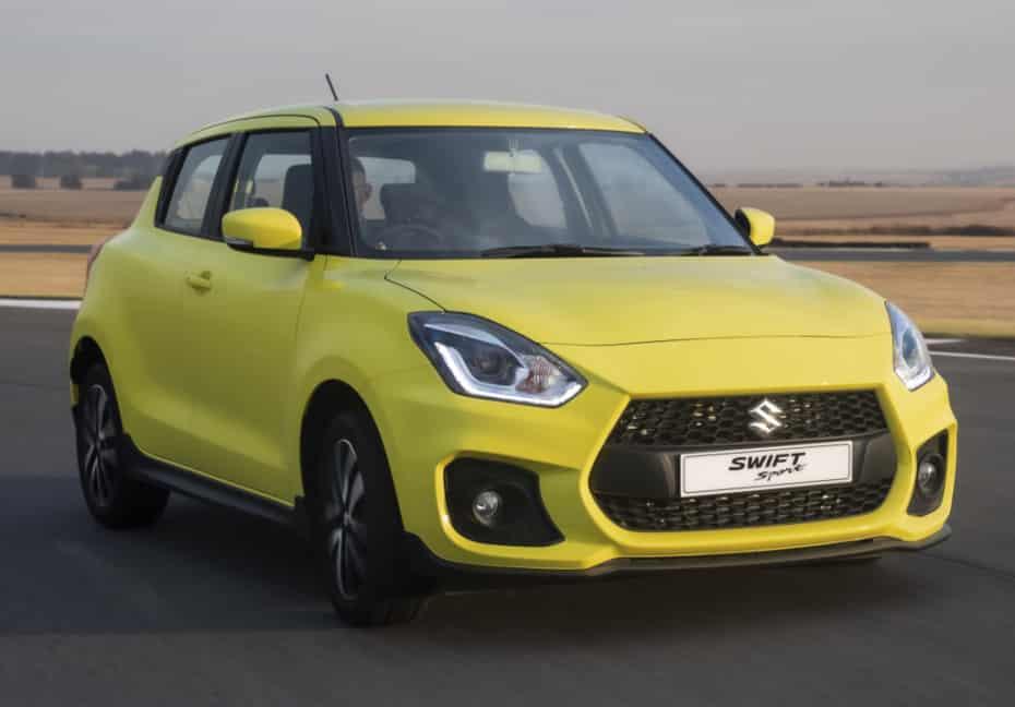 Suzuki ampliará la oferta de vehículos micro-híbridos, Swift Sport incluido