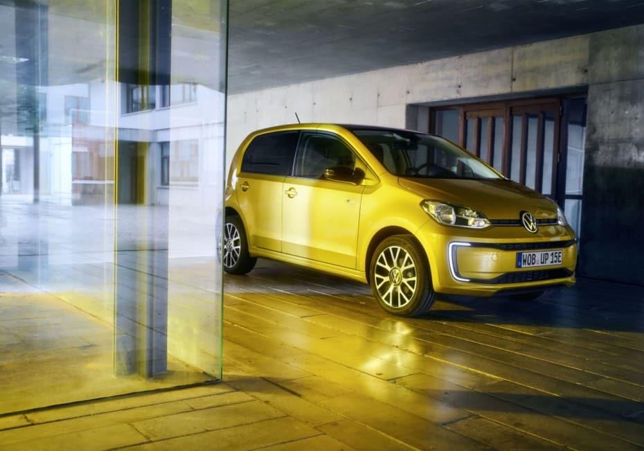 Así es el renovado Volkswagen e-Up!