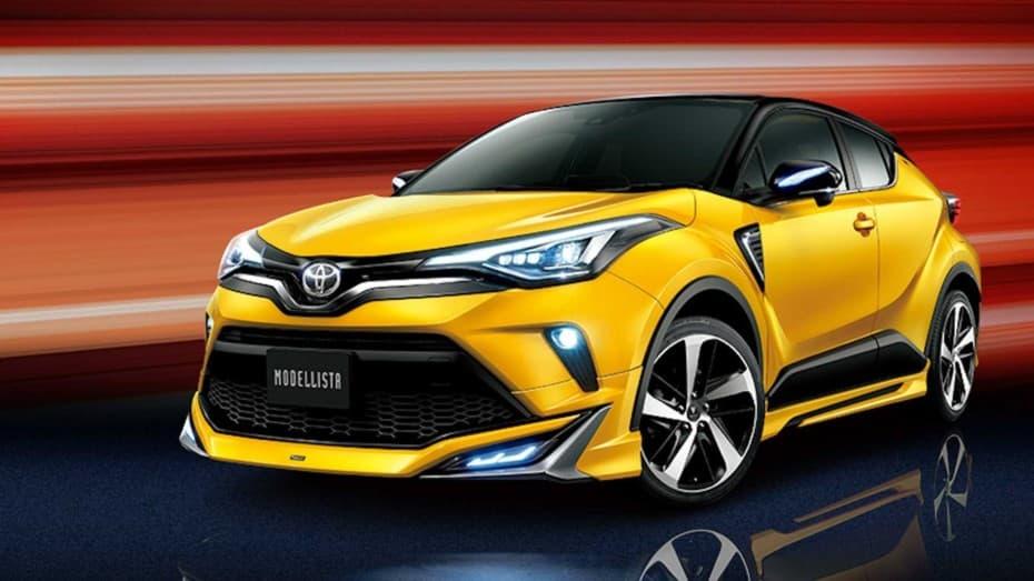 Modellista actualiza sus paquetes para el Toyota C-HR 2020: Adiós discreción