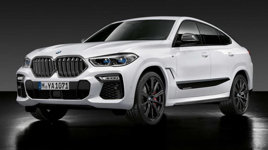 Los accesorios del catálogo M Performance llegan a los BMW X6, X5 M, X6 M y X7