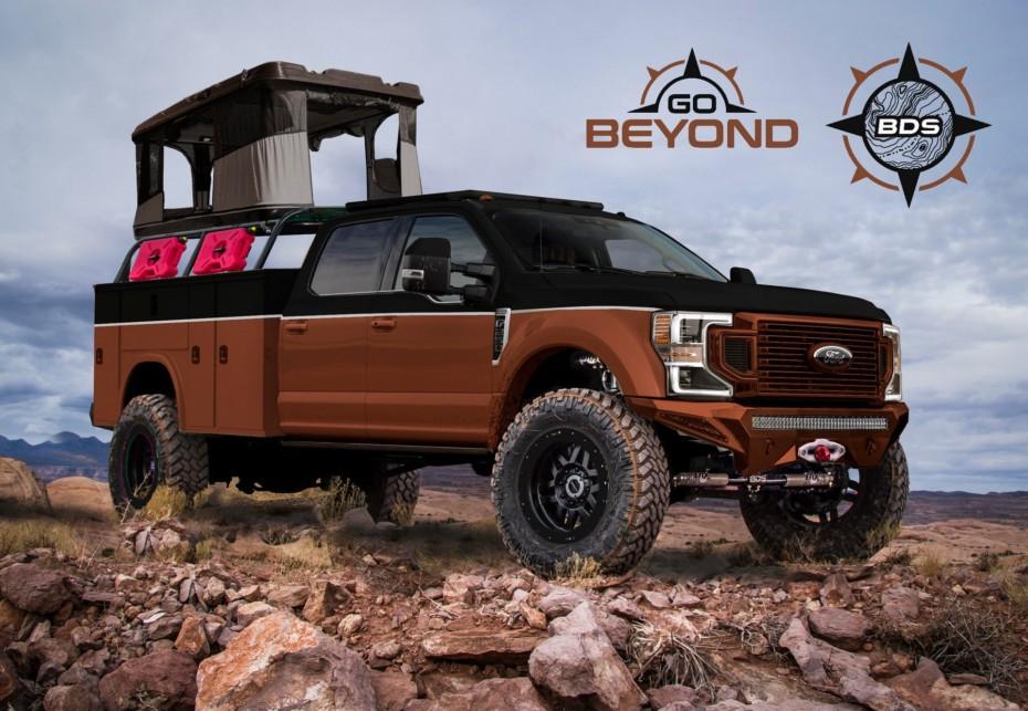 La gama Super Duty de Ford también se apunta al SEMA Show 2019 con brutales propuestas