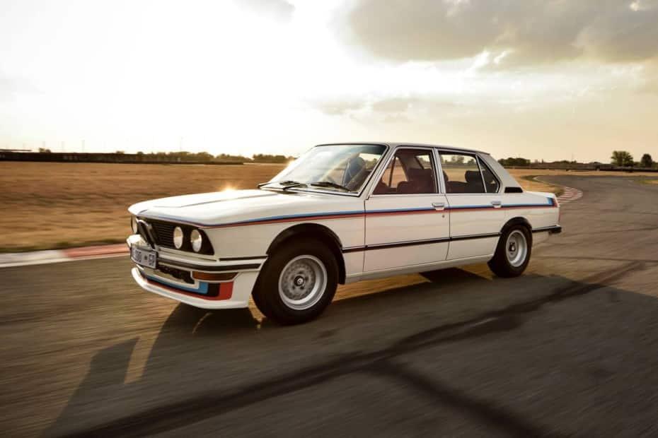 El último superviviente: Este BMW 530 MLE de 1976 restaurado es el Serie 5 más exitoso de la competición