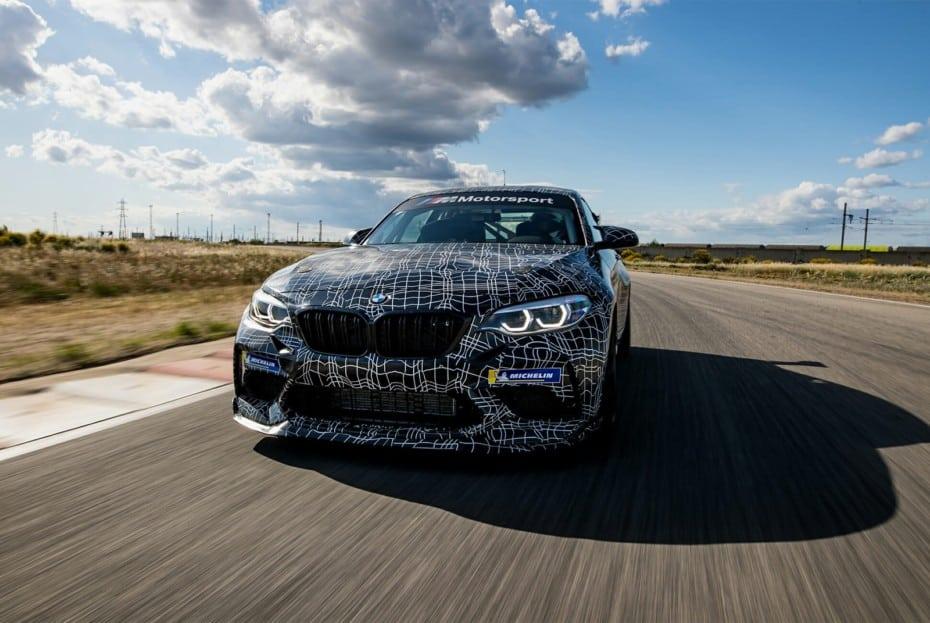 El BMW M2 CS 2020 es realmente rápido rodando en Hockenheim: Primeros detalles del modelo