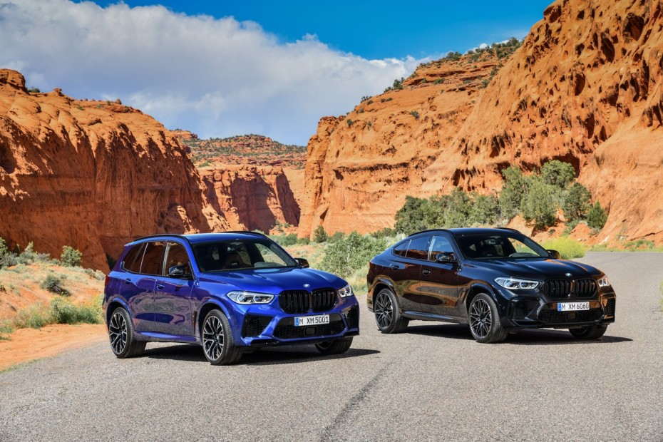 Los BMW X5 M y BMW X6 M debutan con hasta 625 CV en las versiones Competition