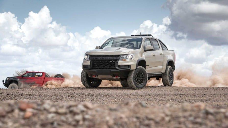 El Chevrolet Colorado ZR2 se renueva de cara a 2020 con un aspecto todavía más agresivo