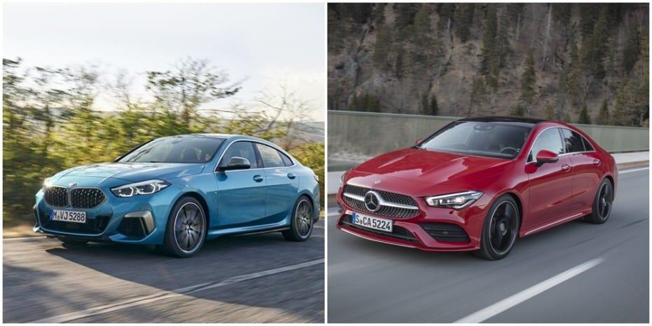 Comparativa visual: ¿BMW Serie 2 Gran Coupé o Mercedes-Benz CLA?