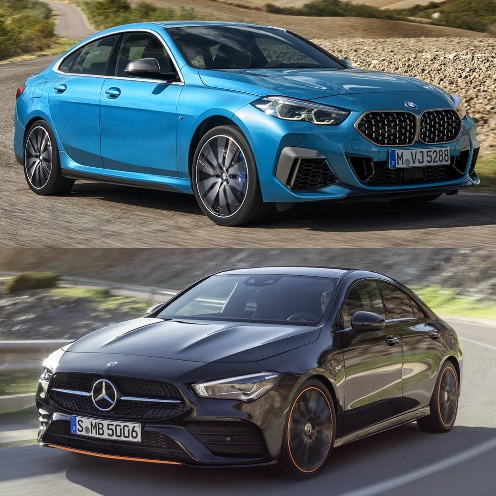 Comparativa Visual Bmw Serie 2 Gran Coupe O Mercedes Cla