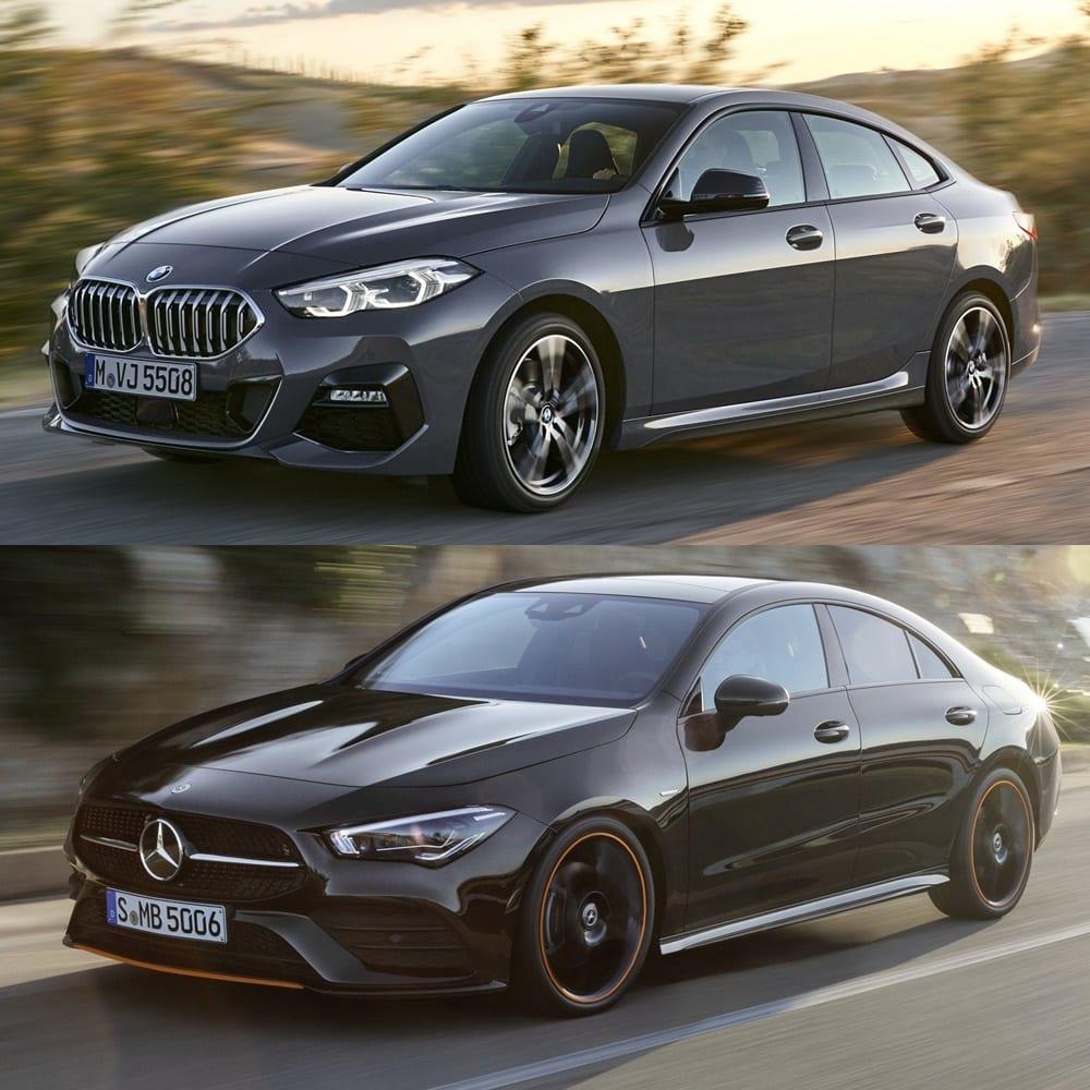 Comparativa Visual: ¿BMW Serie 2 Gran Coupé O Mercedes CLA?