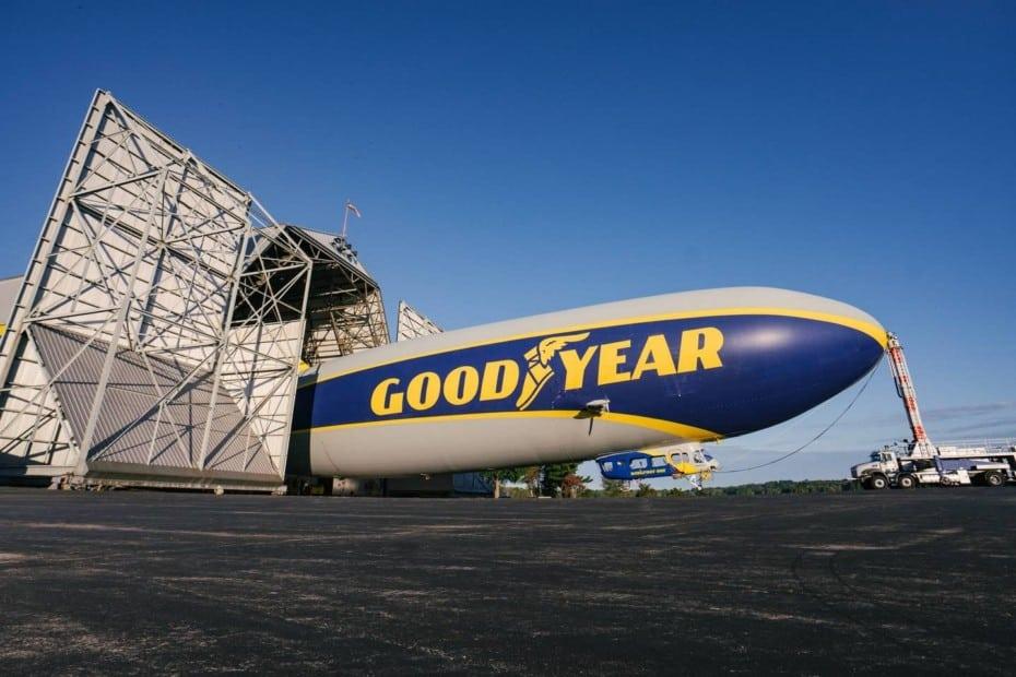 El sueño de muchos se hace realidad: Ya puedes pasar una noche en el dirigible de Goodyear