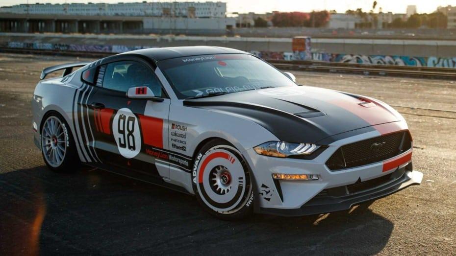 El Ford Mustang GT con 250 CV extra de Roush Performance está listo para el SEMA