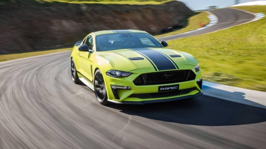 Ford Mustang R-Spec: Solo 500 unidades con mejoras en el V8 de 5.0 litros