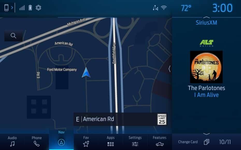 Así es SYNC 4 de Ford: Pantallas de hasta 15.5″ a partir de 2020 y conexión sin cables