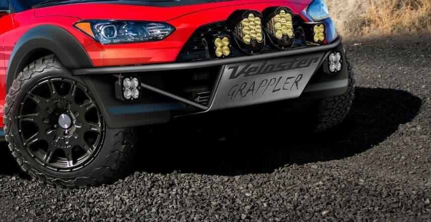 Hyundai Veloster Grappler: Un gran disfraz de Halloween con destino el SEMA Show de Las Vegas