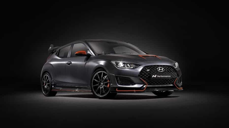 Hyundai Veloster N Performance Concept, una vuelta de tuerca más