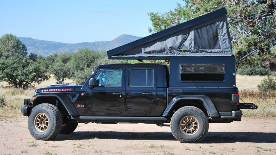 Este Jeep Gladiator AT Summit Habitat es la camper todoterreno definitiva