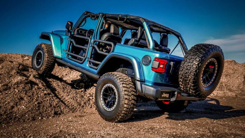 El Jeep Wrangler Rubicon se vista de gala con los accesorios de Mopar para el SEMA Show