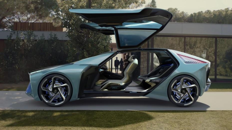 Lexus LF-30 Electrified Concept: Cuatro motores eléctricos y unos asientos que moldean el cuerpo