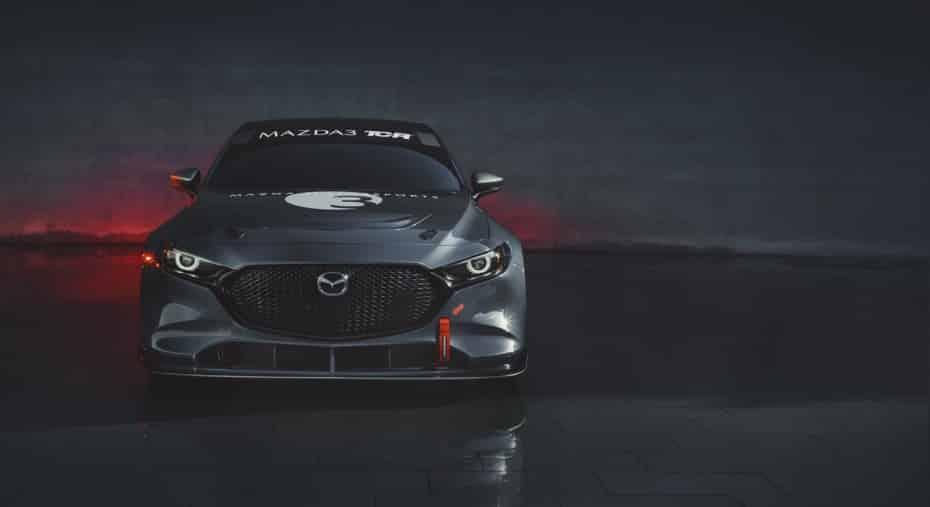Así de salvaje el Mazda3 TCR: 4 cilindros, turbo, 350 CV y homologado para 36 encuentros