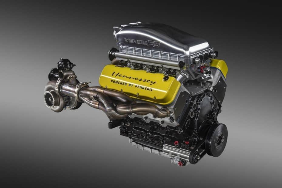 Hennessey se burla de Bugatti con el motor 'Fury' V8 de 1.817 CV que equipará el Venom F5