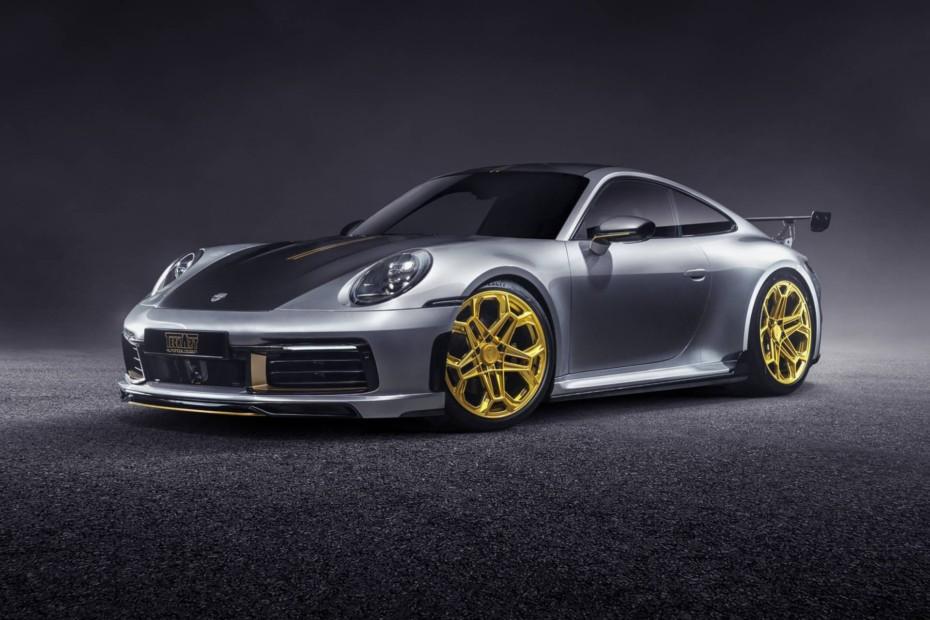 Hasta 60 CV extra y estética de infarto a base de fibra para el Porsche 911 Carrera 4S