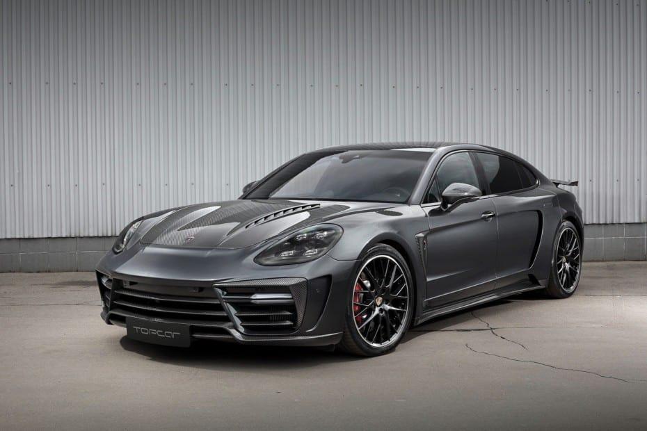 Porsche Panamera Stingray GTR Edition LWB: Limusina de lujo con unos caballos extra y mucha fibra