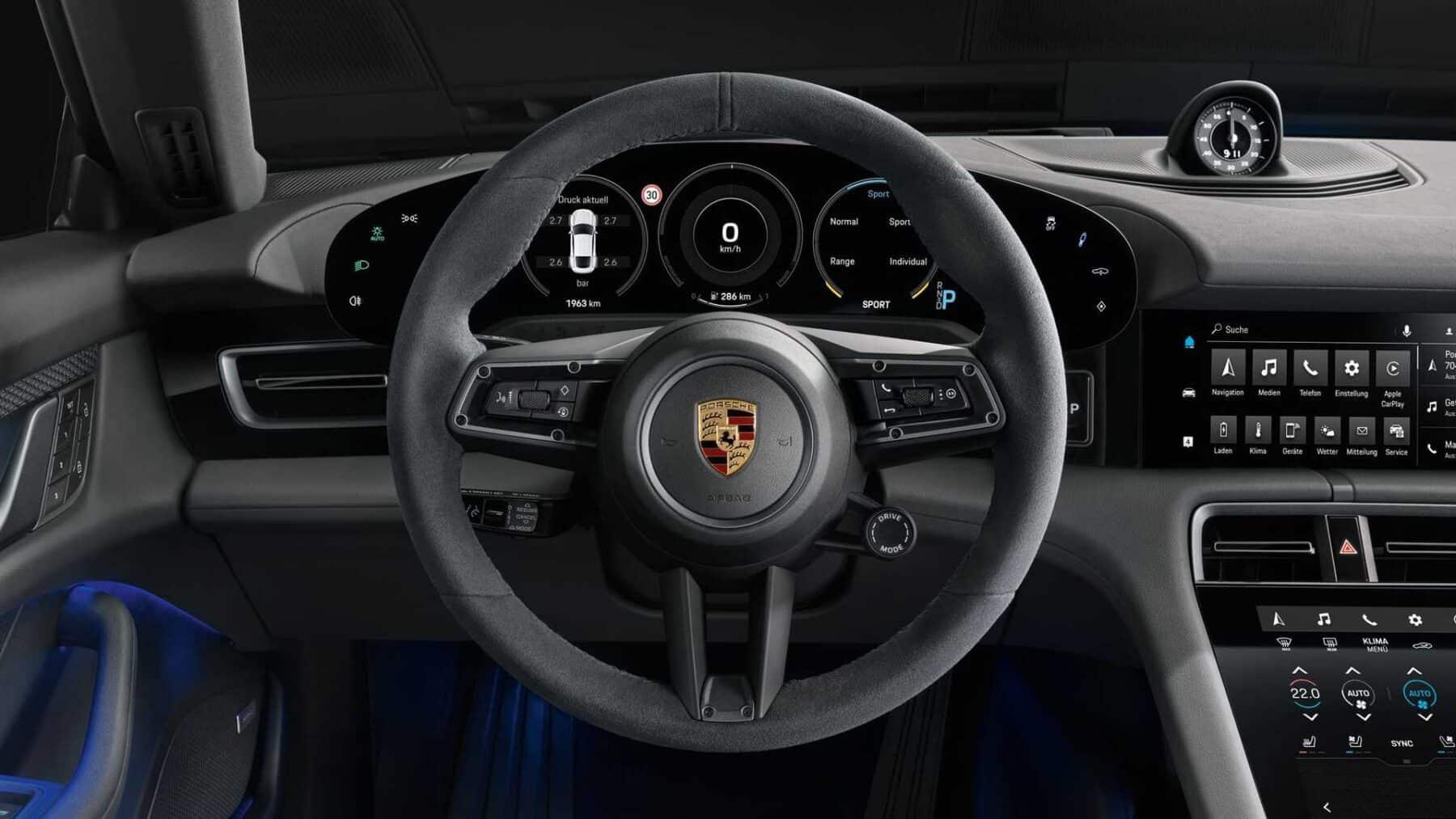 Noticia: Porsche Taycan 4S: menos potencia, más autonomía