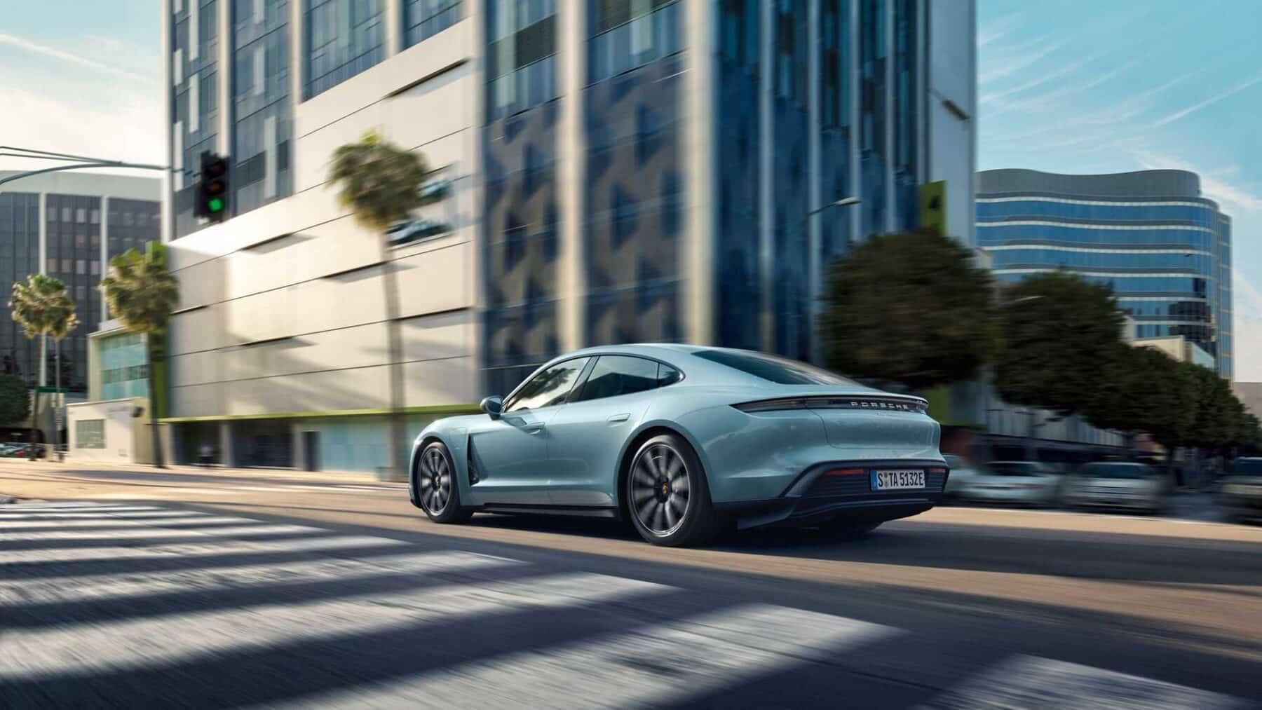 Porsche Taycan 4S 2020: la versión más asequible del deportivo eléctrico