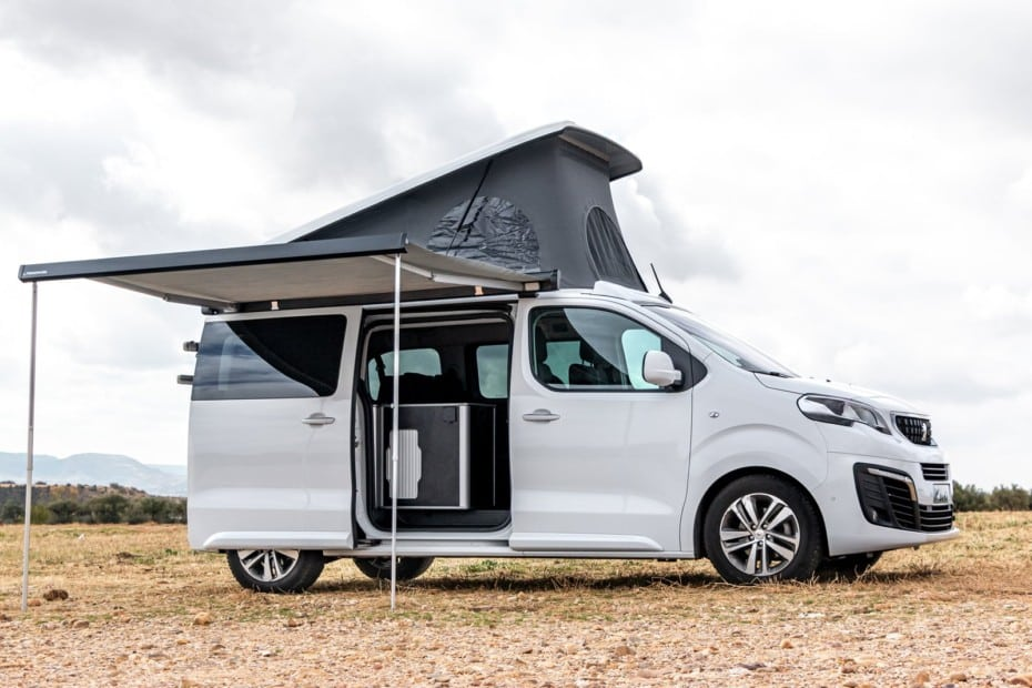 Prueba Peugeot Traveller by Tinkervan Standard Active BlueHDi 180 EAT8 2019: Opción camper interesante