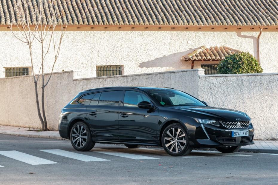 Prueba Peugeot 508 SW GT Line PureTech 180 EAT8: Uno de los familiares más ágiles y atractivos