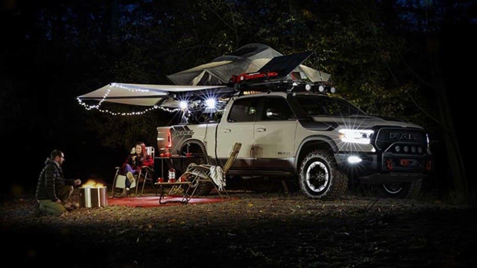 El RAM 1500 Rebel OTG de Mopar es mucho más que una simple camper 'off road'