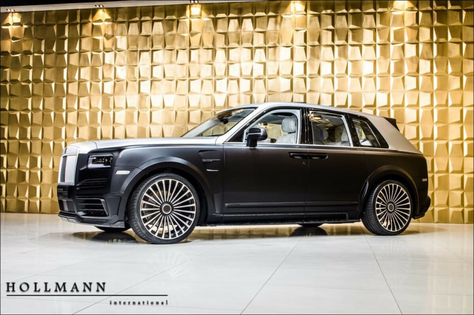 El Rolls-Royce Cullinan de Mansory es un derroche de lujo y extravagancia