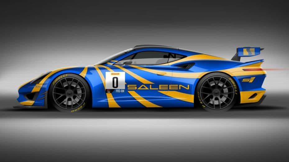 Saleen GT4 Concept Race Car: Saleen apunta alto para recuperar su reputación en la competición