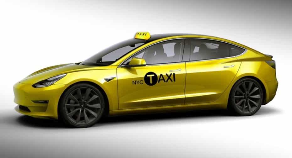 El Tesla Model 3 se convierte en el primer taxi eléctrico de Nueva York
