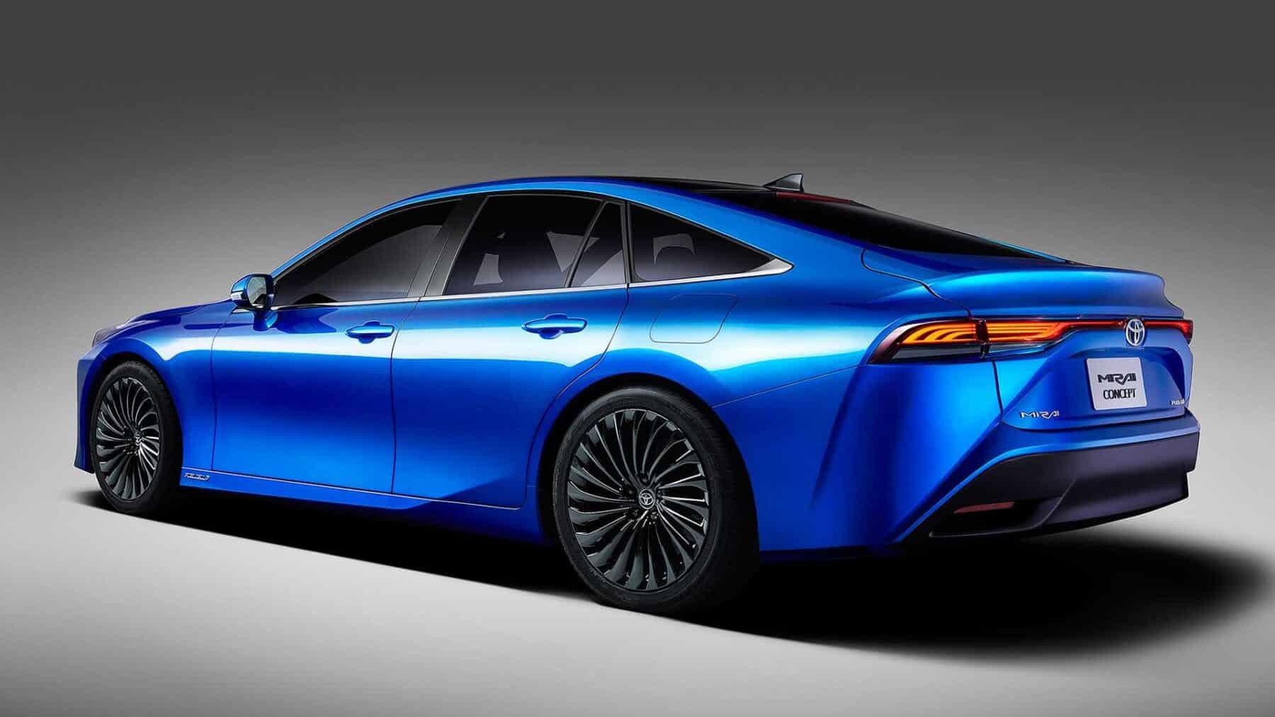 Toyota Mirai Sedan Concept 2021: La gran evolución del vehículo de hidrógeno nipón