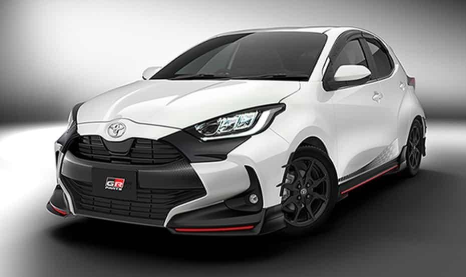 El nuevo Toyota Yaris recibe las TRD Parts: Un look más «japonés» y «deportivo»