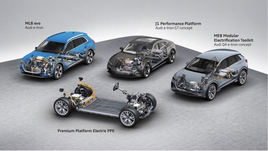 Estos son los planes de Audi en materia de movilidad eléctrica: Aluvión de modelos cero emisiones
