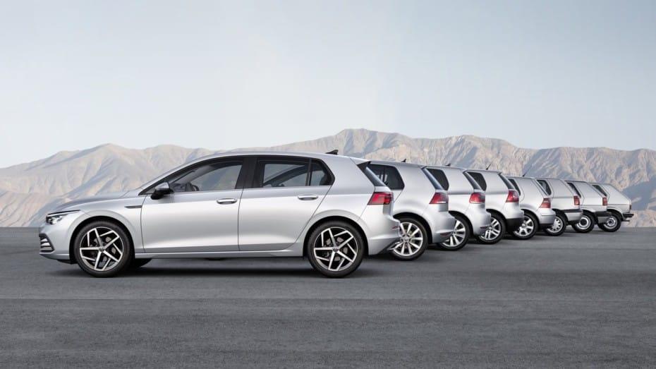 ¿Decepcionado con el nuevo Volkswagen Golf? Repasemos las 8 generaciones a ver con cuál te quedas