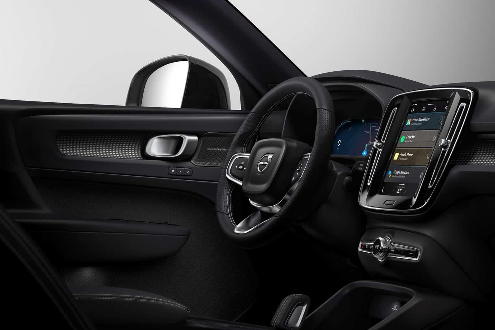 El Volvo XC40 eléctrico presenta nuevo sistema para Android