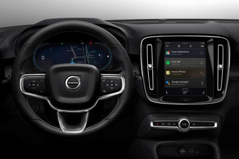 El nuevo Volvo eléctrico llega con Android Nativo
