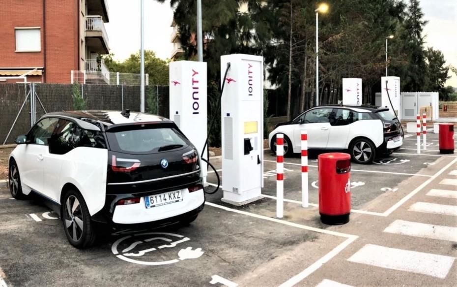 IONITY lanza su primera estación de carga de alta potencia en España: 350 kW