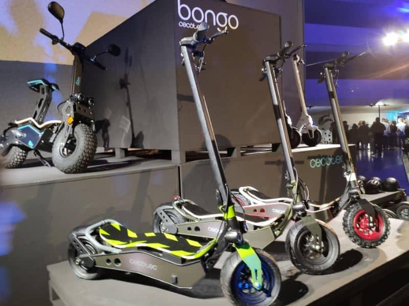 Cecotec nos presenta Bongo: Una familia de patinetes con hasta 45 km de autonomía
