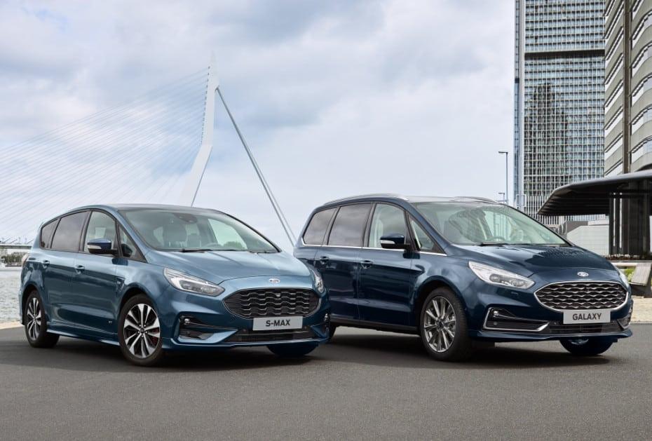 Los Ford Galaxy y S-Max se ponen al día