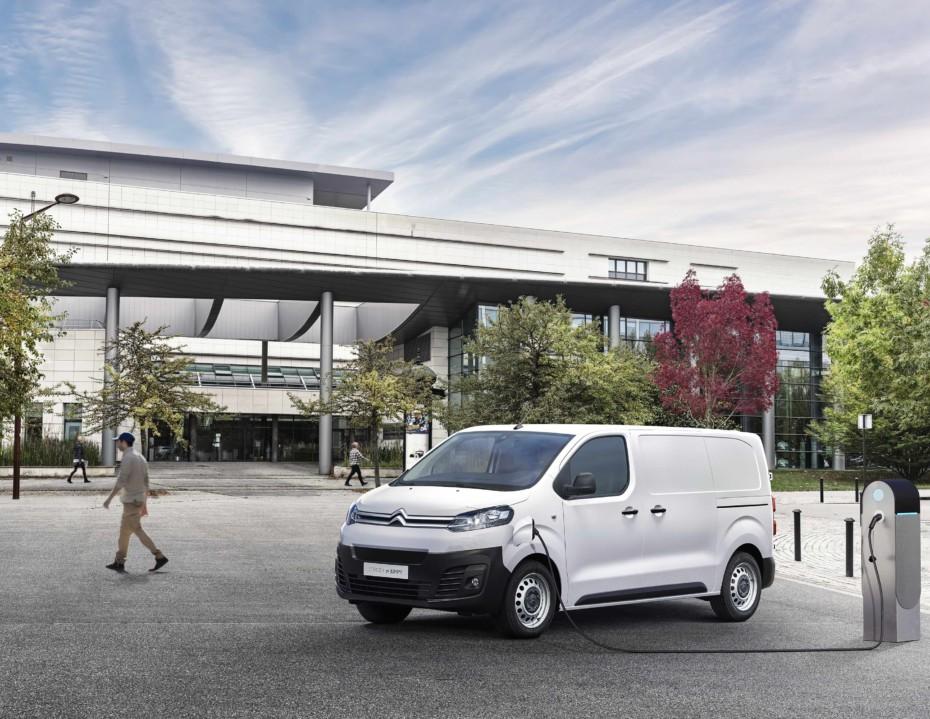 El Citroën Jumpy tendrá versión eléctrica en 2020