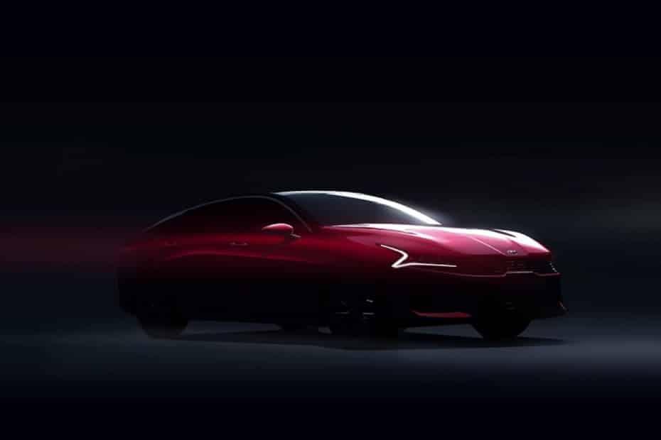El Kia K5 o futuro Optima contará con un diseño espectacular: aquí un anticipo
