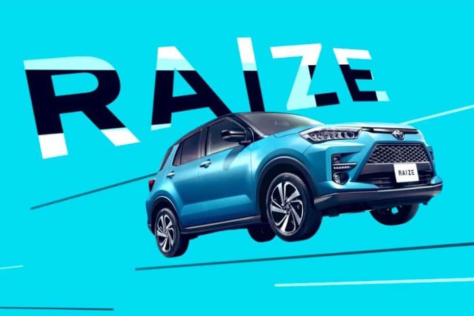 Primeras imágenes del nuevo Toyota Raize