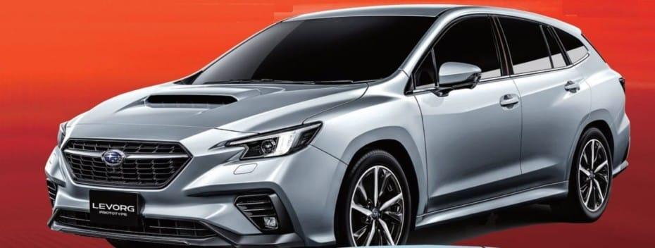 ¡Filtrado!: Así es el Subaru Levorg que debutará en Tokio