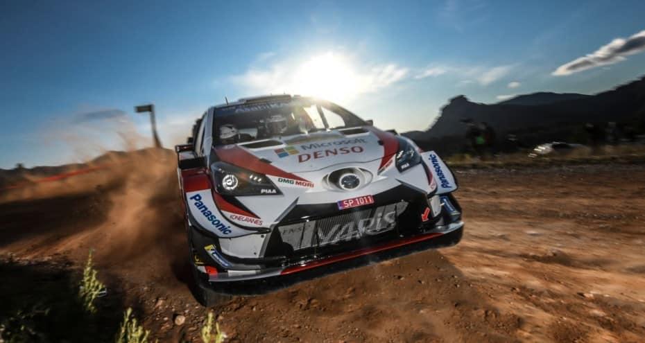 Ott Tänak y el Toyota Yaris WRC, campeones del mundo de rallys 2019